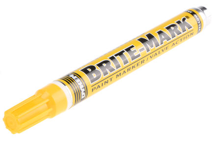 Brite mark medium tip paint marker sincityscuba for Dykem paint markers