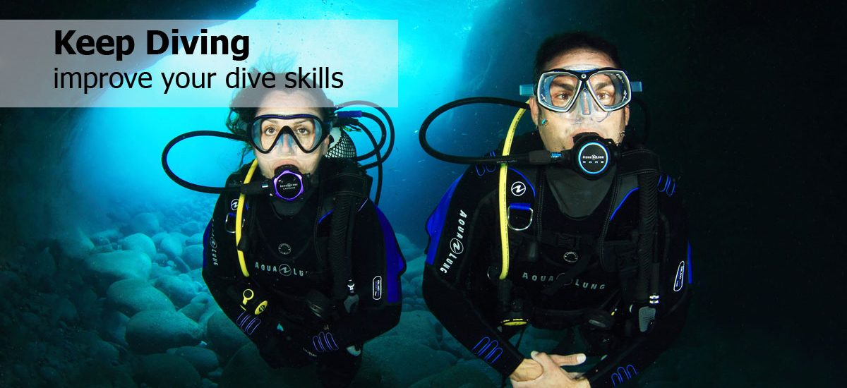 Keep scuba Diving in las vegas